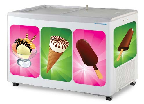 REFRIGERATORS ICE-CREAM FREEZER SANDEN SNG-0403D11A